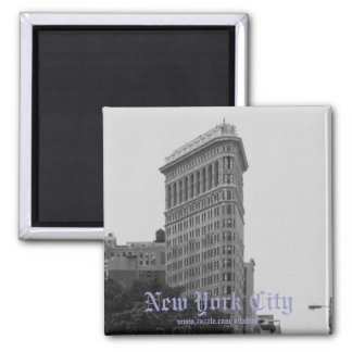New York City black and white photography magnet