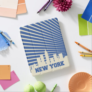 New York City Blue iPad Cover