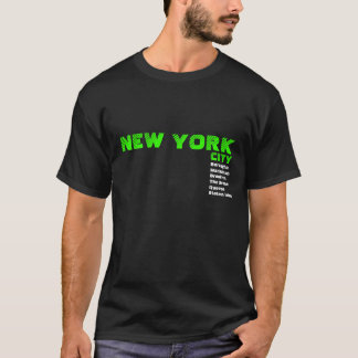 New York City Borough T-shirt