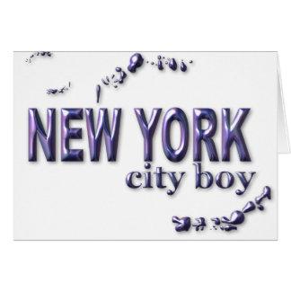 New York City Boy Card