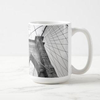 New-York City Brooklyn Bridge Basic White Mug