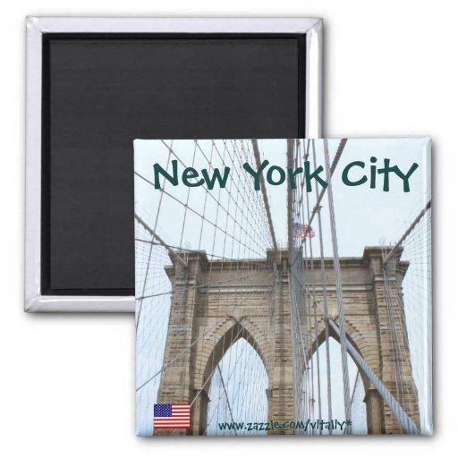 New york city brooklyn bridge magnet design zazzle for New york city design company