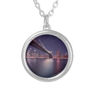 New York City Brooklyn Bridge Personalized Necklace