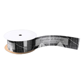 New York City Brooklyn Bridge Wedding Satin Ribbon