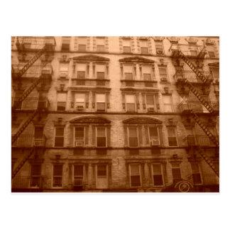 New York City Building Postcard