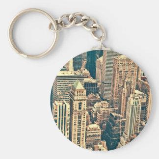 New York City Buildings Key Ring