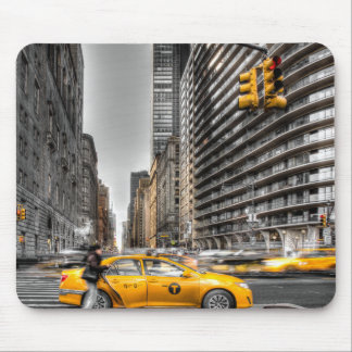 New York City cabs, Central Park Mouse Mat