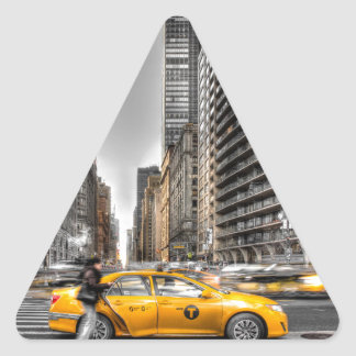 New York City cabs, Central Park Triangle Sticker