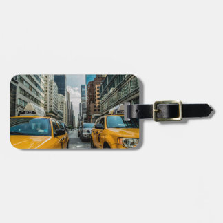 New York City Cabs Tag For Luggage