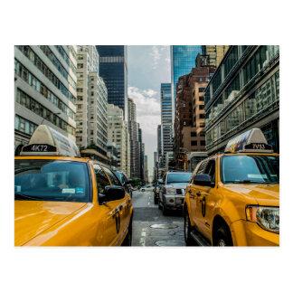 New York City Cabs - Postcard