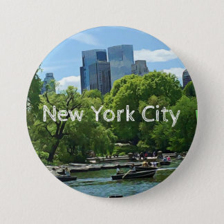 New York City Canoers Button