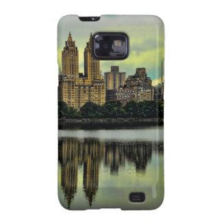 New York City Central Park Skyline Galaxy SII Covers