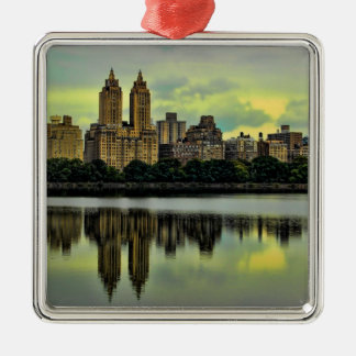 New York City Central Park Skyline Christmas Ornament