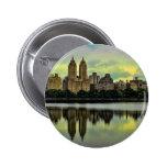 New York City Central Park Skyline Pin