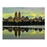 New York City Central Park Skyline Postcards