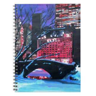 New York City - Central Park Winter Spiral Notebook