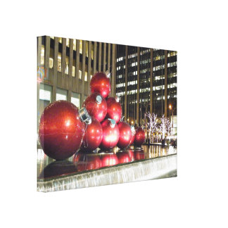 New York City Christmas Canvas Print