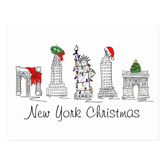 New York City Christmas NYC Xmas Holiday Landmarks