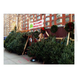 New York City Christmas Tree Holiday Cards