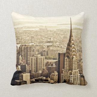 New York City - Chrysler Building Cushion