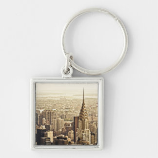 New York City - Chrysler Building Key Ring