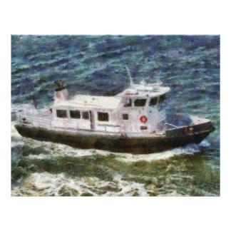New York City - Coast Guard Full Color Flyer