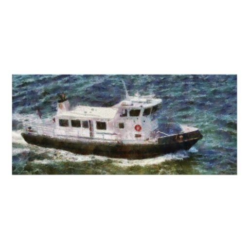 New York City - Coast Guard Personalized Rack Card