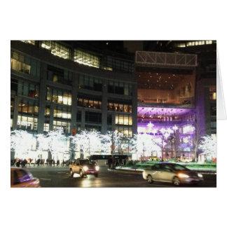 New York City Columbus Circle Christmas Cards