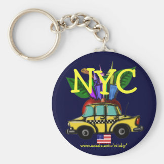 New York City cool keychain design