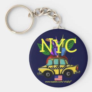 New York City cool keychain design