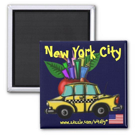 New York City cool magnet design