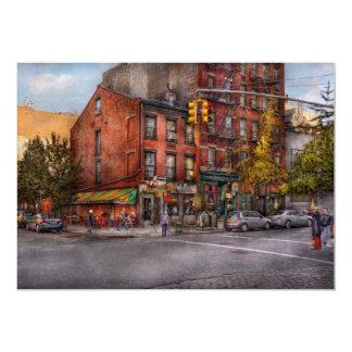 New York - City - Corner of One way & This way 13 Cm X 18 Cm Invitation Card