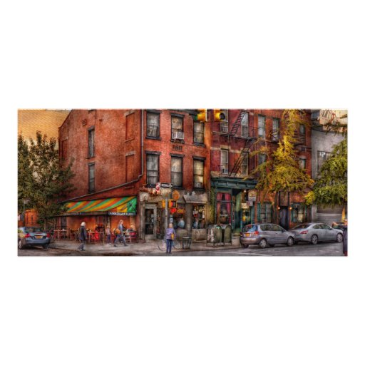 New York - City - Corner of One way & This way Rack Card Template