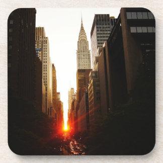 New York City Decorative Coaster -  Manhattanhenge
