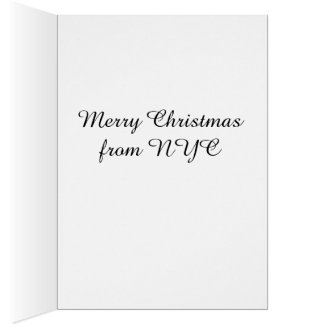 New York City Drummer Boy Christmas Cards