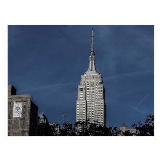 New York City Empire State Building Photo Post Card