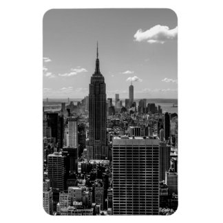 New York City Empire State Building Skyline Rectangle Magnet