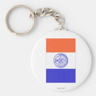 New York City Flag Key Ring