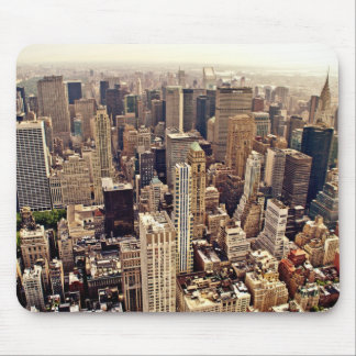 New York City From Above Mouse Mat