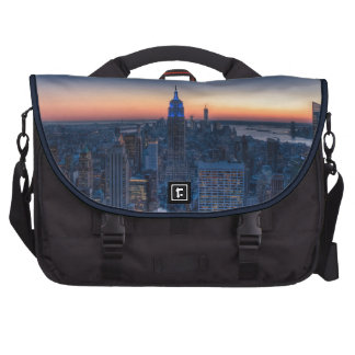 New York City from top of the Rockefeller Centre Bag For Laptop