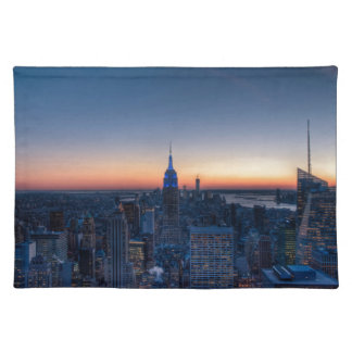 New York City from top of the Rockefeller Centre Placemat