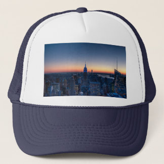 New York City from top of the Rockefeller Centre Trucker Hat