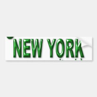 New York City Girl Bumper Stickers
