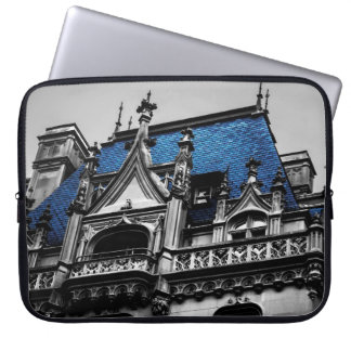 New York City Goth Architecture Photo Laptop Sleeve