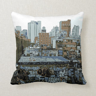 New York City Graffiti Cushion