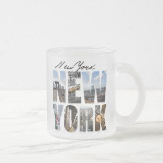 New York City Graphical Tourism Montage Mug
