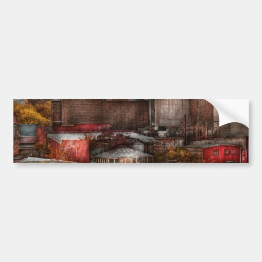 New York - City - Greenwich Village - Abstract cit Bumper Stickers