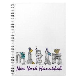 New York City Hanukkah Chanukah NYC Gift Notebook