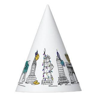 New York City Hanukkah NYC Jewish Holiday Chanukah Party Hat