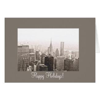 New York City Happy Holidays Card